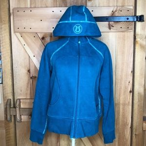 lululemon   scuba hoodie turquoise 12